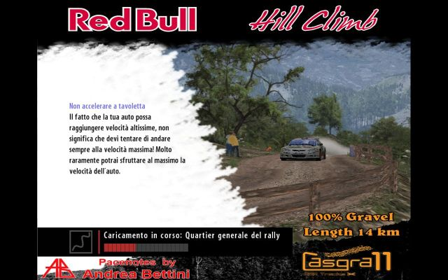 NEW STAGE: REDBULL HILL CLIMB