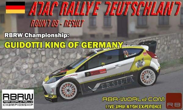 RBRW - Deutschland Rally result