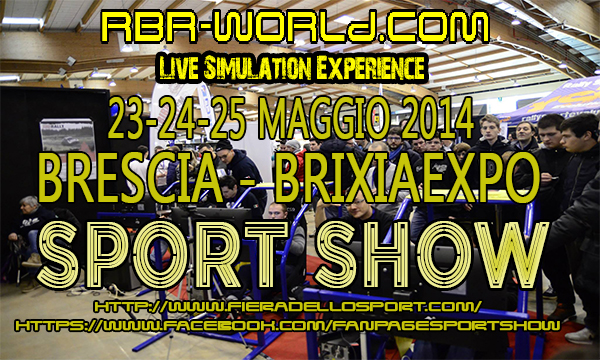 RBR-World @ SportShow - Fiera dello Sport!!!