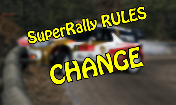 New SuperRally Rules