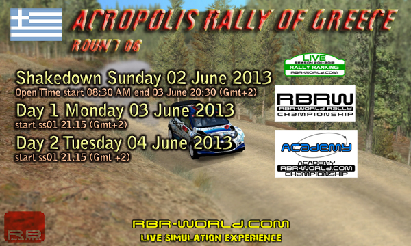 RBRW Rd06: Acropolis Rally of Greece
