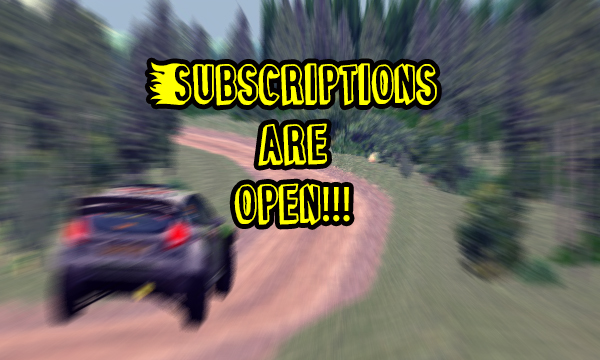 Subscriptions are open!!!