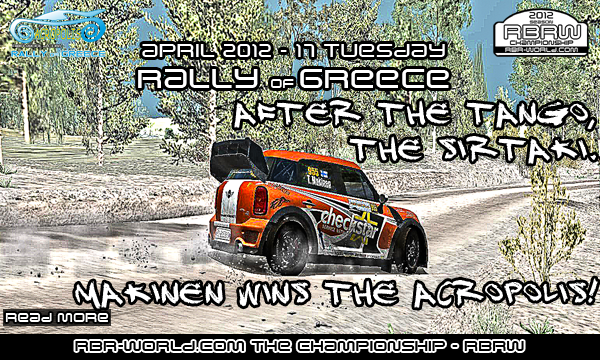RBRW: Makinen wins the Acropolis rally