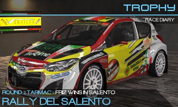 Friz wins the Rally del Salento
