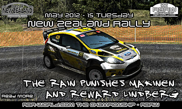 RBRW: Lindberg wins in New Zealand