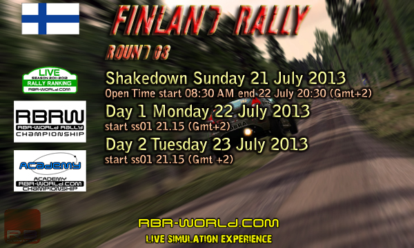 RBRW - Finland Rally