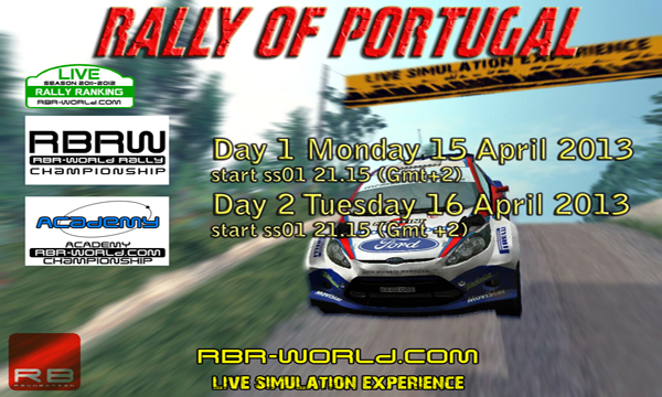 4th Round RBRW: Rally of Portugal