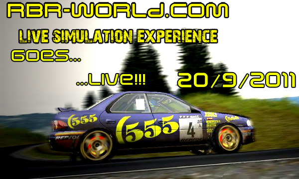 RBR-WORLD GOES... ...LIVE!!!